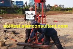DeepBoring-SPT & UjiSondir-Plant Ready Mix Cakung Jakarta Utara