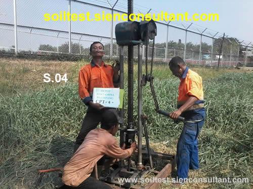 Soil Test-Uji Sondir & Deep Boring-NSPT