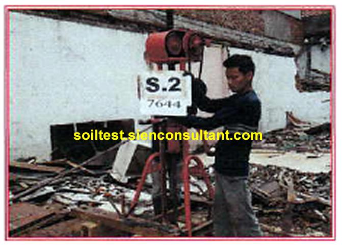 Uji Sondir Test CPT- HOTEL  Jl. Pemuda Np.5 Rawamangun Jakarta