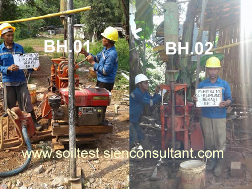 Soil Test Bore Hole-NSPT