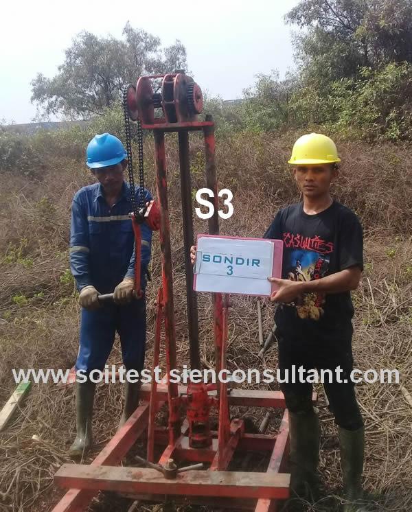 Soil Testing Indonesia Test Tanah Uji Sondir Cpt Bore Spt Cbr Test Jakarta
